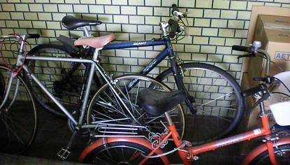 自転車・ガレージ