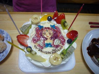 プリキュア ケーキ