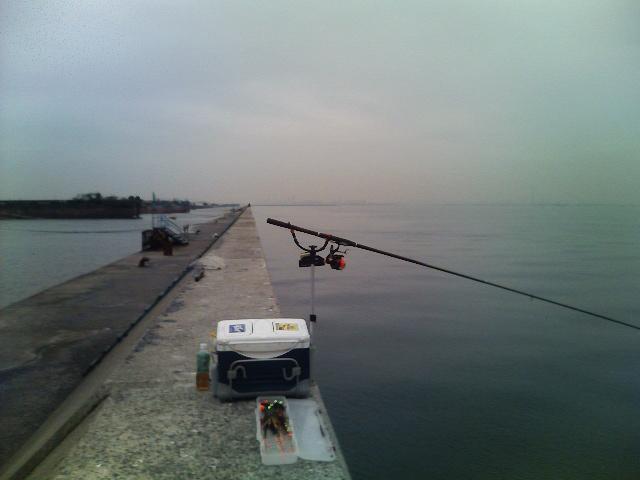 本日の釣場