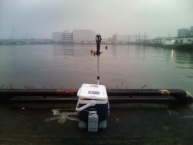 今日の釣場(移動前)