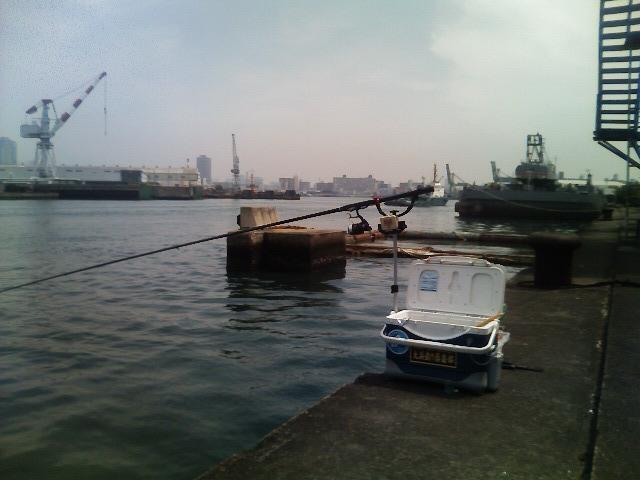 今日の釣場