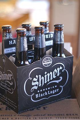 テキサスの黒ビール