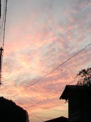20111103夕焼け