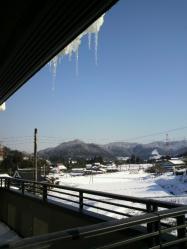 20120125氷柱~~~♪