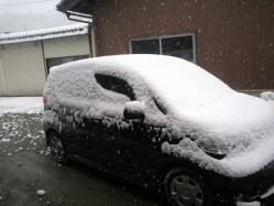 20120312雪~♪