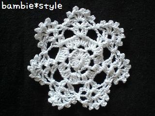 モチーフ編み編み