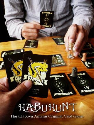 原ハブ屋奄美オリジナルカードゲーム「ハブハント」