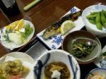 孫六温泉の夕食