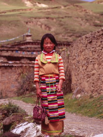 チベタン ガール