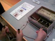 名古屋市科学館・エジソンの低周波治療器