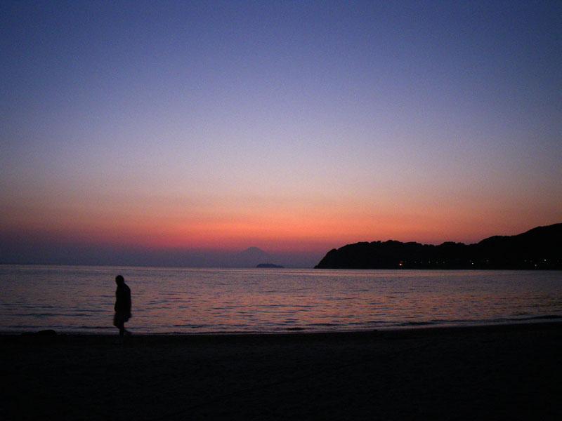 080909逗子海岸夕景3