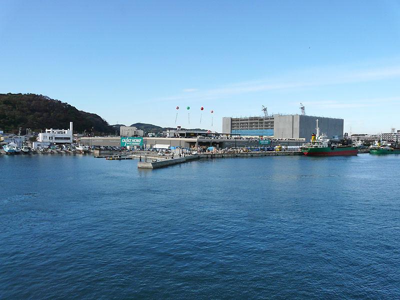 081123東京湾フェリーからの富士-1