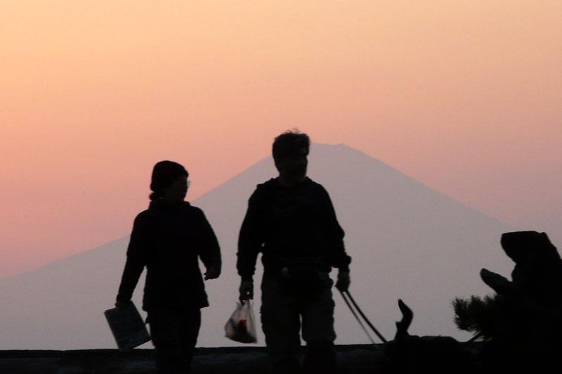 0903森戸夕景2
