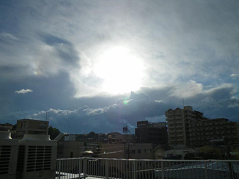 090508雨上がりの夕空に1