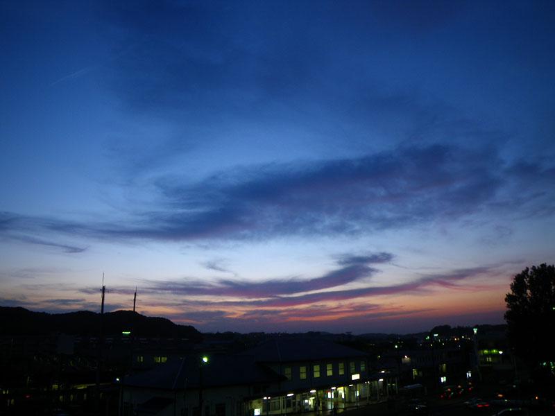090518久里浜夕景1