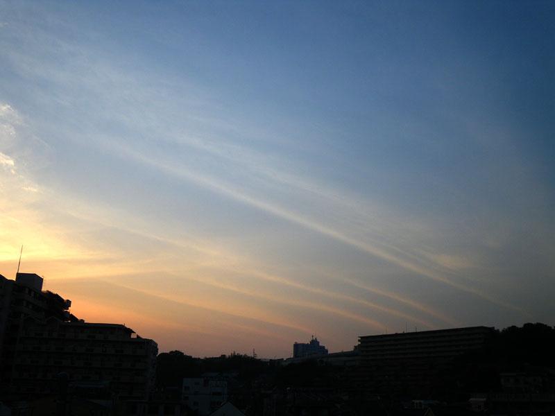 090520今日の夕雲1