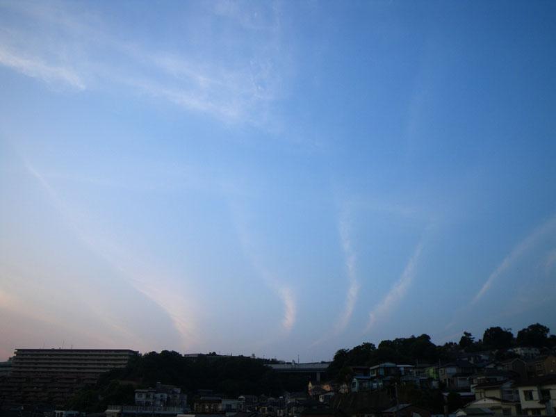 090520今日の夕雲2