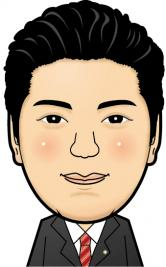 安井さん似顔絵