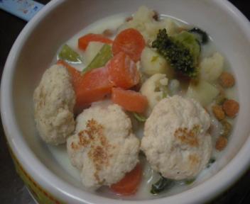 ミルク野菜スープ