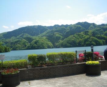 相模湖風景