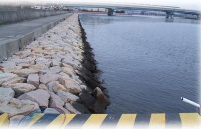 南芦屋浜(石畳側)