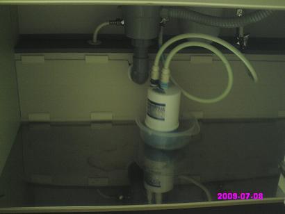 浄水器カートリッジ交換
