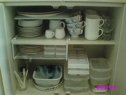 食器棚下 整理後