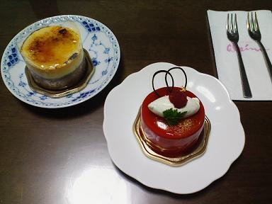妹の誕生日ケーキ