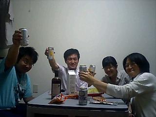 我が家で飲み会