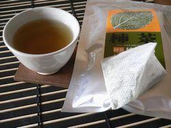 柿茶 飲んでみました