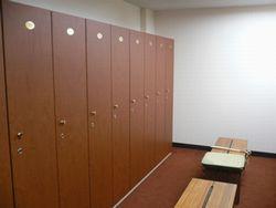 麻生カントリー ロッカー室
