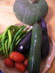 実家からお野菜