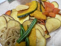 セコムの食 レポ 野菜チップス