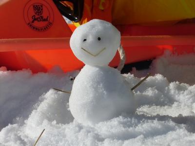 雪遊び(平谷)