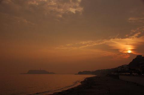 七里夕陽2