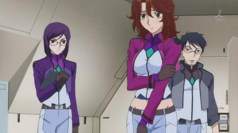 機動戦士ガンダム00 セカンドシーズン 第04話 「戦う理由」ノリエガ02