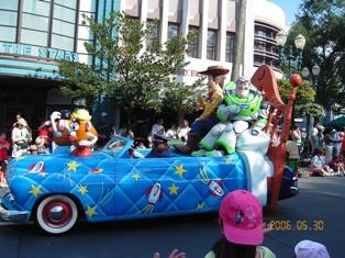 MGMスタジオにてパレード