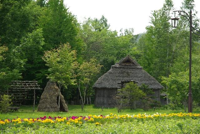 アイヌの村