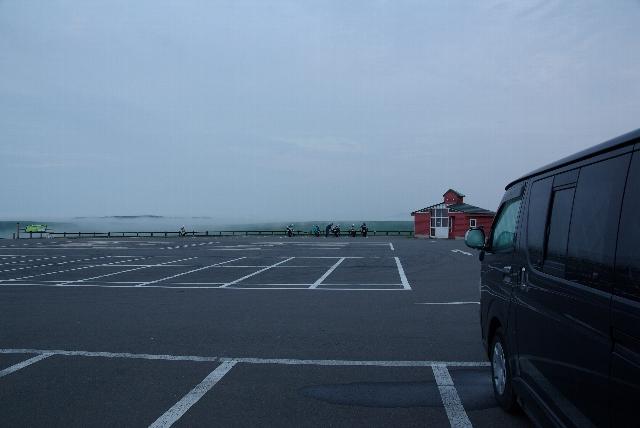 開陽台の駐車場