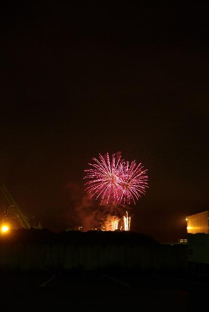 小樽の花火