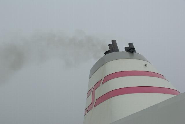 小樽港を出航