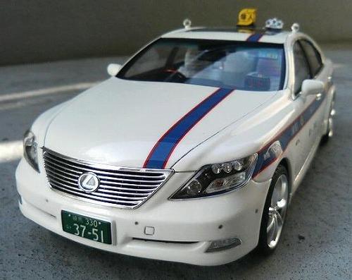 レクサスLS 個人タクシー