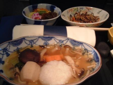 ANAシンガポール発成田行きビジネスクラス(2度と乗れねえ)朝食編