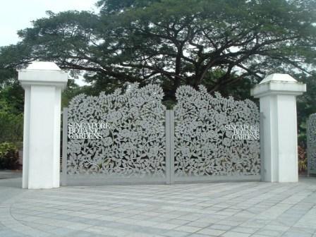シンガポール植物園のフードコートのロティプラタ
