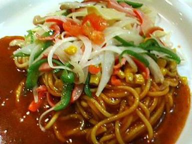 スパゲティハウスチャオのあんかけスパゲティ