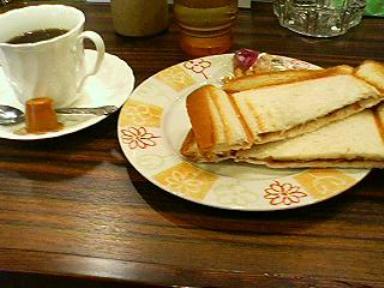 モーニング喫茶リヨンのモーニング