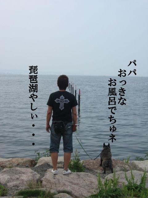 琵琶湖だよ♪