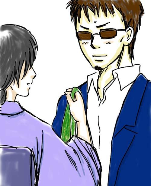 長谷川夫妻