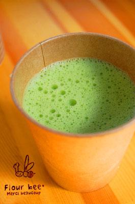 小松菜ジュース!