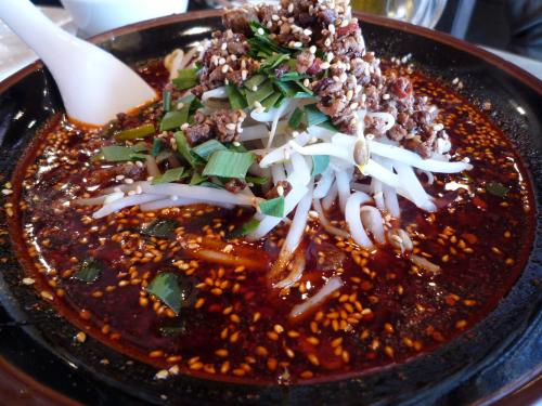 麻ラー坦々麺